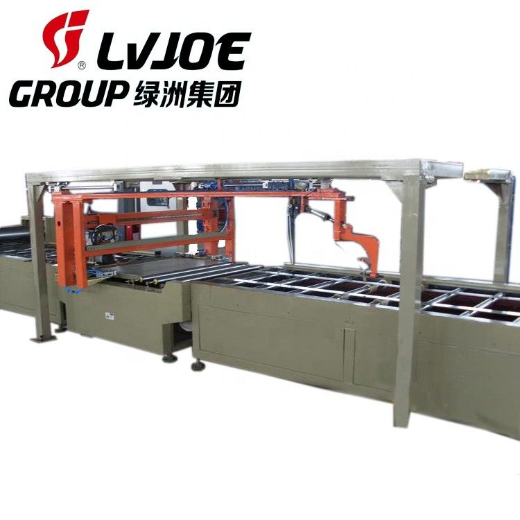 High Capacity 2440*1220mm Fireproof MgO Board Production Line with Low Labour